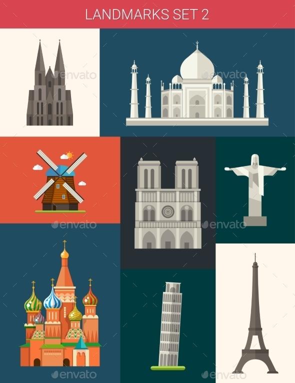 GraphicRiver Landmarks 10893884
