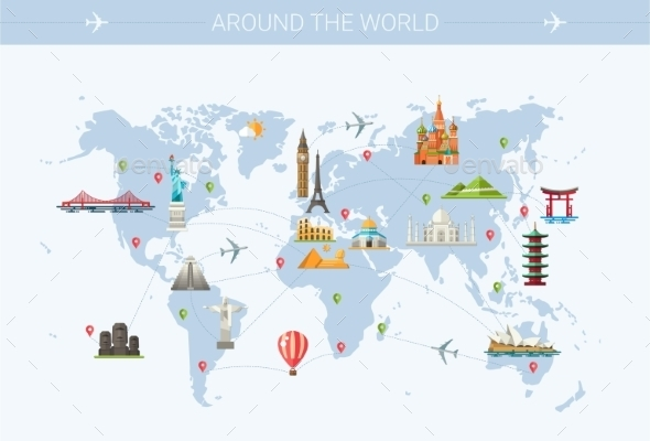 GraphicRiver Around the World 10894177