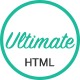 Ultimate - One Page HTML5 Portfolio Template