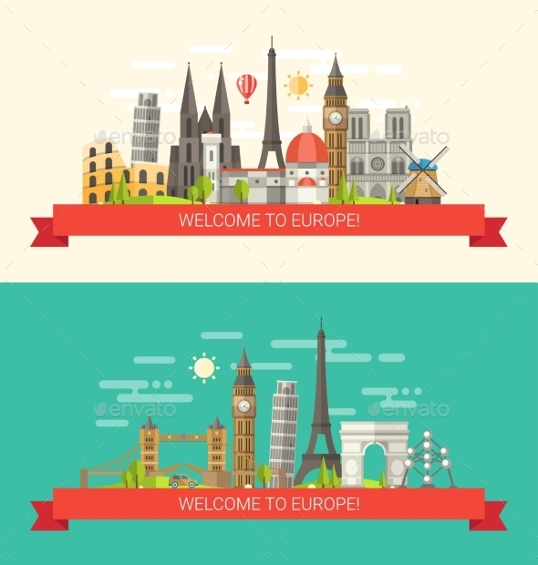 GraphicRiver Travel Concepts 10894309