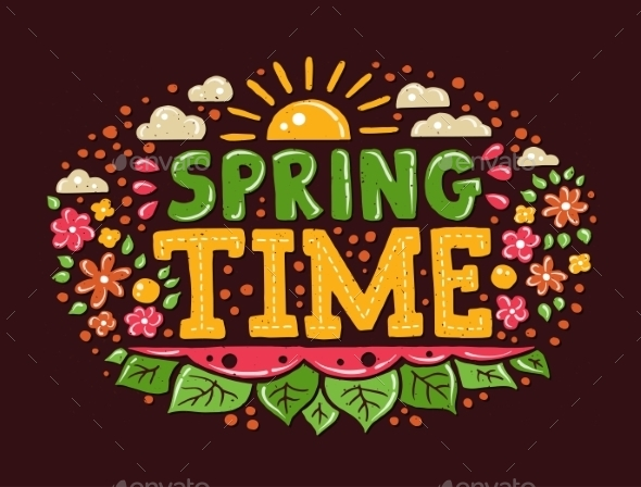 GraphicRiver Spring Time Background 10894445