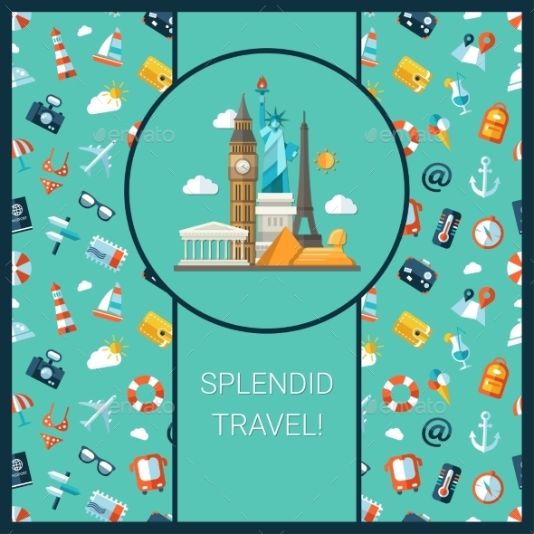 GraphicRiver Travel Card 10894478