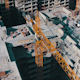 Flying Above Unfinished Building - VideoHive Item for Sale