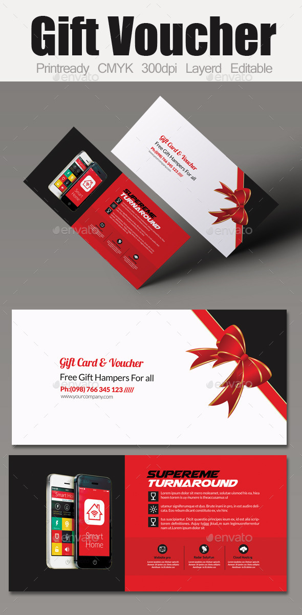 GraphicRiver Mobile App Business Voucher 10894567