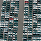 Flying Above Storage Parking Lot New Unsold Cars - VideoHive Item for Sale