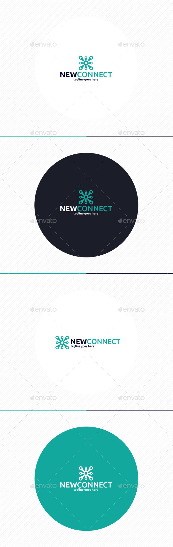 GraphicRiver New Connect Logo 10894675