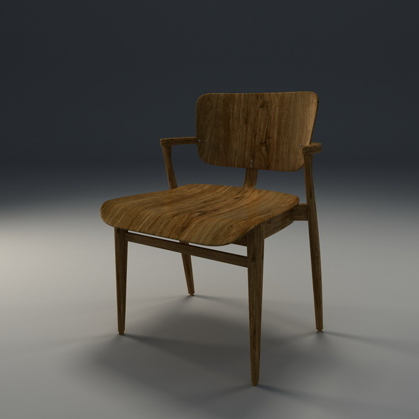 Domus chair - 3DOcean Item for Sale