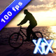Biker Silhouette - VideoHive Item for Sale