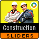 Construction Sliders - 2 Designs - GraphicRiver Item for Sale
