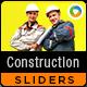 Construction Sliders - 2 Designs - GraphicRiver Item for Sale