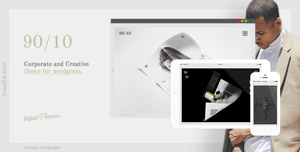 ThemeForest 9010 Corporate and Creative Theme for WordPress 10369678