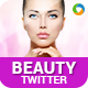 Beauty Products Twitter Headers - 2 Designs - GraphicRiver Item for Sale