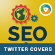 SEO Twitter Headers - 3 Designs - GraphicRiver Item for Sale