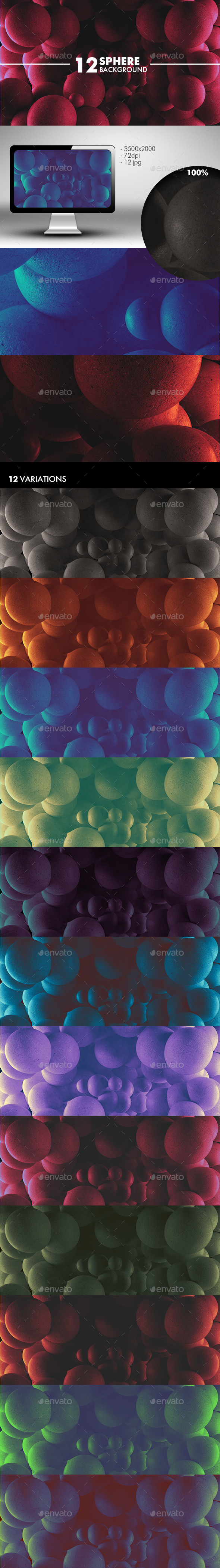 GraphicRiver Sphere Background 10895554