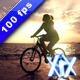 Sunset Cycling - VideoHive Item for Sale