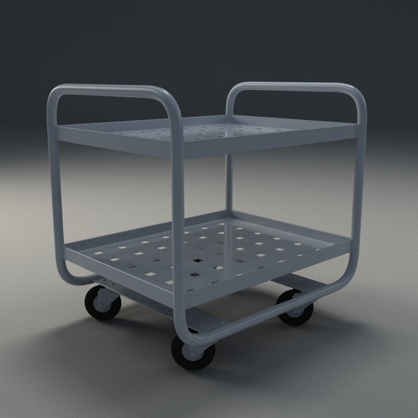 3DOcean Industrial trolley 10895727
