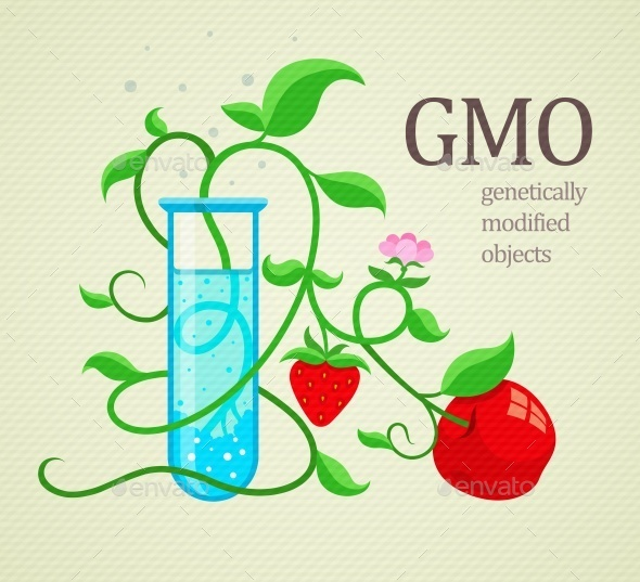 GraphicRiver GMO Genetically Modifiedplants Growing 10895792