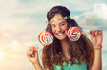 Teenager with Lollipop - PhotoDune Item for Sale