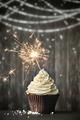 Cupcake with sparkler - PhotoDune Item for Sale