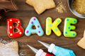 Cookies spellling bake - PhotoDune Item for Sale