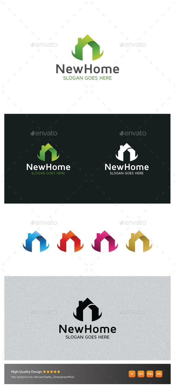 GraphicRiver New Home 10870317