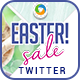 Easter Sale Twitter Header - GraphicRiver Item for Sale