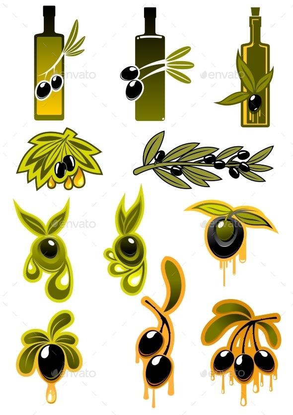 GraphicRiver Olive Symbols 10896661