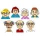 Smiling Seniors  - GraphicRiver Item for Sale