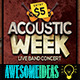 Acoustic Week Flyer - GraphicRiver Item for Sale