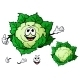 Cauliflower Cartoon  - GraphicRiver Item for Sale