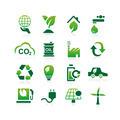 Green environment ECO icon - PhotoDune Item for Sale