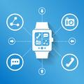Smart watch for social media - PhotoDune Item for Sale