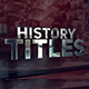 History Title Package - VideoHive Item for Sale