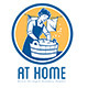 At Home Extra Strong Laundry Powder Logo - GraphicRiver Item for Sale