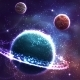 Planet Background  - GraphicRiver Item for Sale