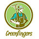 Greenfingers Local Organic Produce Logo - GraphicRiver Item for Sale