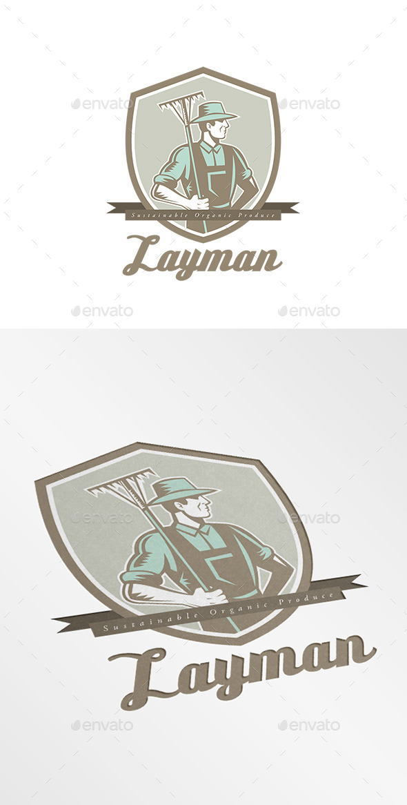 GraphicRiver Layman Sustainable Organic Farms Logo 10898939