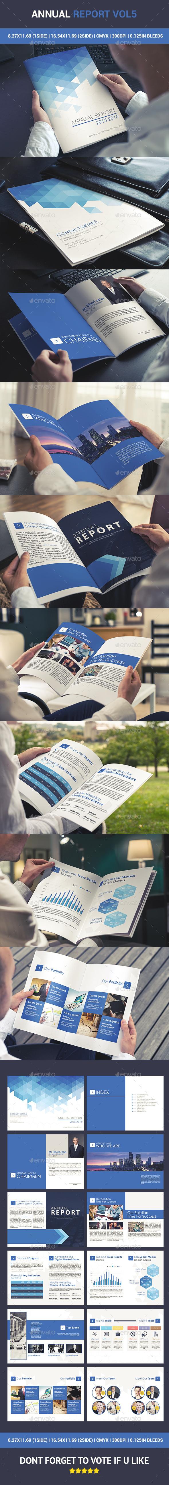 GraphicRiver Annual Report Catalogue Vol5 10819222