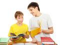 Brothers doing Homework - PhotoDune Item for Sale