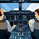 Pilot in Cockpit  - GraphicRiver Item for Sale