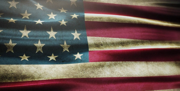 VideoHive U.S.A Flags Collection 10900431