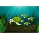 Turtles Under the Sea  - GraphicRiver Item for Sale
