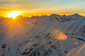 Sunrise in the mountains in winter - PhotoDune Item for Sale