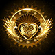Mechanical Heart with Wings - GraphicRiver Item for Sale