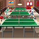 Teenagers Playing Ping Pong - GraphicRiver Item for Sale