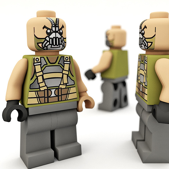Lego bane - 3DOcean Item for Sale