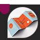 Mock-Up • A7 4-Fold (Zig Zag) Brochure - GraphicRiver Item for Sale