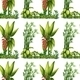 Seamless Plants - GraphicRiver Item for Sale