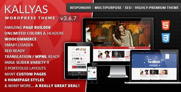 KALLYAS - Responsive Multi-Purpose WordPress Theme - KALLYAS MULTIPURPOSE RESPONSIVE WORDPRESS THEME