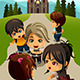 Kids going to Church  - GraphicRiver Item for Sale